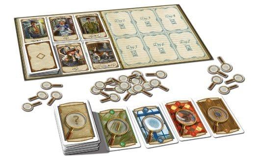 Spielinhalt - Holmes – Sherlock gegen Moriarty, Rechte beim Kosmos Verlag