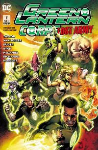Comic Cover - Green Lantern Corps: Lost Army #2, Rechte bei Panini Comics