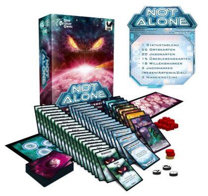 Inhalt von Not Alone, Rechte bei Corax Games