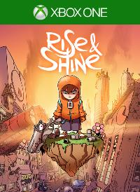 Xbox One Cover - Rise & Shine, Rechte bei Adult Swim Games