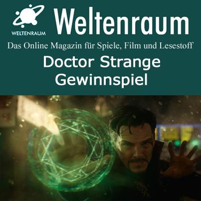 Gewinnspiel Doctor Strange