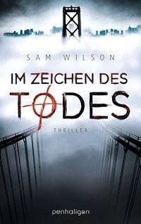 Buchcover - Im Zeichen des Todes von Sam Wilson, Rechte bei Penhaligon