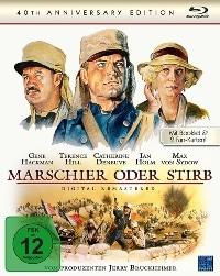 Blu-ray Cover - Marschier oder stirb (Remastered Edition), Rechte bei NewKSM