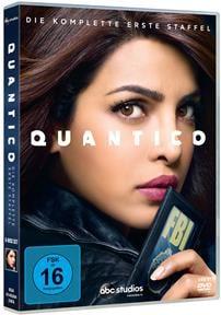 DVD Cover - Quantico - Die komplette erste Staffel, Rechte bei © 2016 ABC Studios / Disney