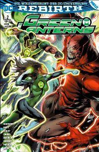 Green Lanterns #2: Die rote Flut, Rechte bei Panini Comics