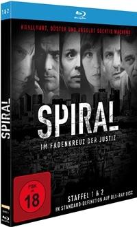 Spiral – Im Fadenkreuz der Justiz: Die kompletten Staffeln 1 + 2 , Rechte bei polyband