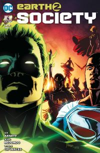 Earth 2: Society #4: Wiedergeburt, Rechte bei Panini Comics