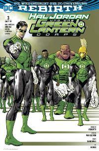 Hal Jordan und das Green Lanterns Corps #3: Verbündete, Rechte bei Panini Comics