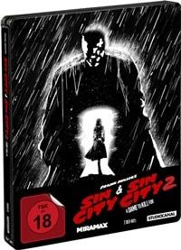 Sin City & Sin City 2, Steelbook Edition, Rechte bei Studio Canal