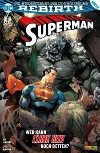 Superman #2 - Rebirth, Rechte bei Panini Comics