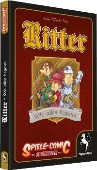 Spiele-Comic Abenteuer: Ritter #1 - Wie alles begann, Rechte bei Pegasus Spiele