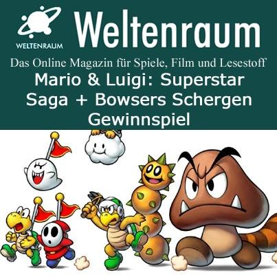Gewinnspiel Mario und Luigi Superstar Saga