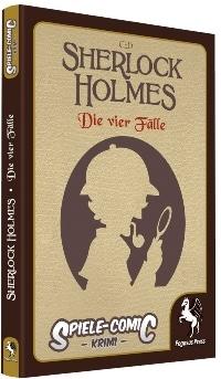Spiele-Comic Krimi: Sherlock Holmes #1 - Die vier Fälle, Rechte bei Pegasus Spiele