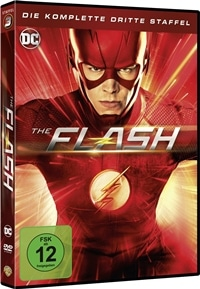 The Flash – die komplette 3. Staffel, Rechte bei Warner Bros.