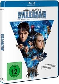 Valerian – Die Stadt der tausend Planeten, Rechte bei Universum Film