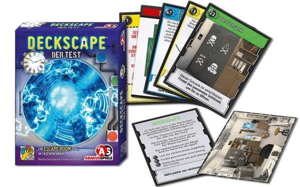 Deckscape - der Test - Spielmaterial