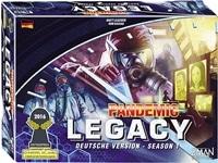 Pandemic Legacy Season 1, Rechte bei Asmodee