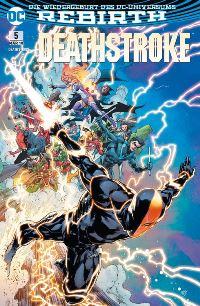 Deathstroke #5: Die Lazarus-Falle, Rechte bei Panini Comics