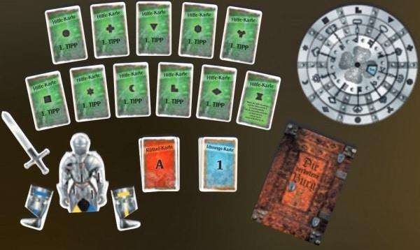 Exit - Das Spiel - Die verbotene Burg - Spielmaterial