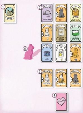 Cat Lady - Spielaufbau