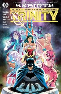 Trinity #2: Tod aus dem All, Rechte bei Panini Comics