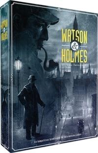 Watson & Holmes Cover