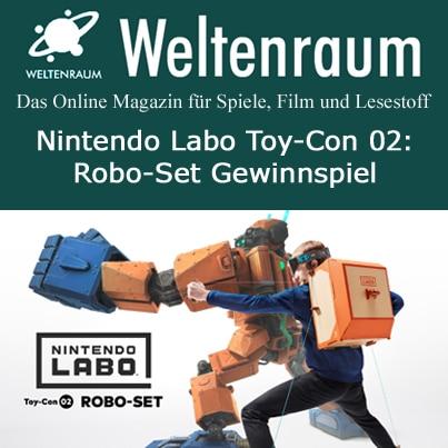 Gewinnspiel Robo Labo