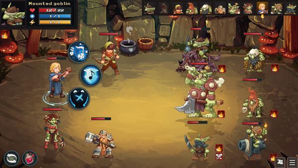 Dungeon Rushers Crawler RPG Bild 2