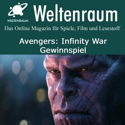 Gewinnspiel Avengers Infinity War