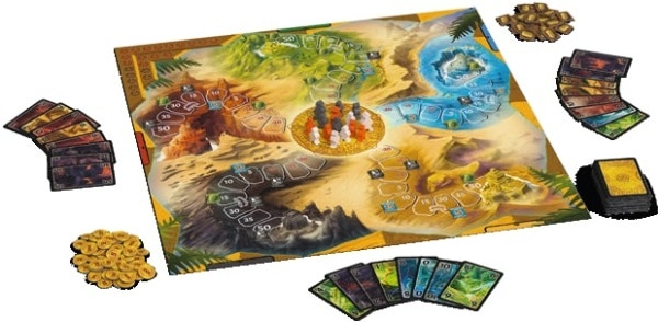 Lost Cities - Spielmaterial