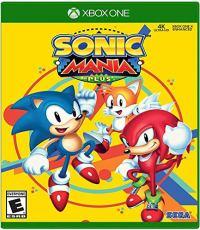 Sonic Mania Plus - Cover