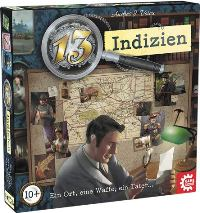 13 Indizien - Cover