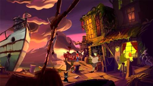 Gibbous - A Cthulhu Adventure, Rechte bei Stuck in Attic