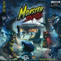 Monster Slaughter - Cover, Rechte bei Boardgame Box