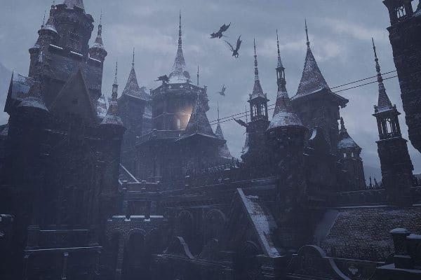 Resident Evil Village – Das Schloss, Rechte bei Capcom