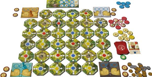 Roundforest - Spielaufbau, Rechte bei Piatnik