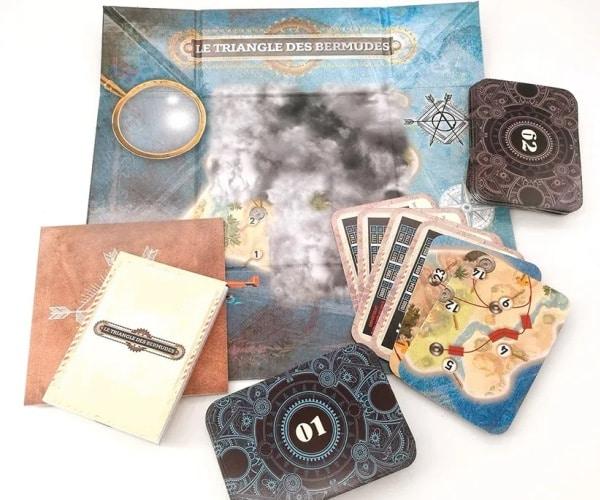 Verschollen im Bermuda-Dreieck - Spielmaterial, Rechte bei Panini Books