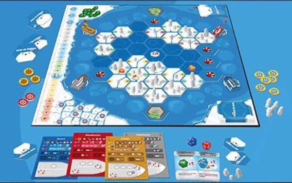 Rettet die Eisbären - Spielmaterial, Rechte beim Kobold Spieleverlag