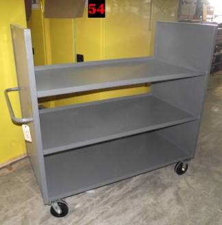 """Heavy duty Welded Cart #54 (61""""x30""""x58"""") - New Surplus"""