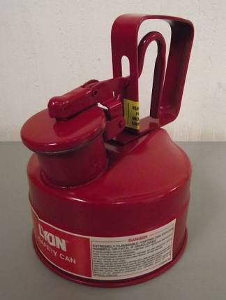 Lyon NF5481 1-Quart Type 1 Safety Can - New Surplus