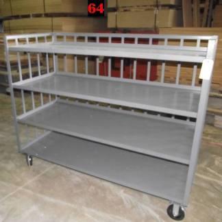 """Heavy Duty Welded Cart #64 (72""""x31""""x58"""") - New Surplus"""