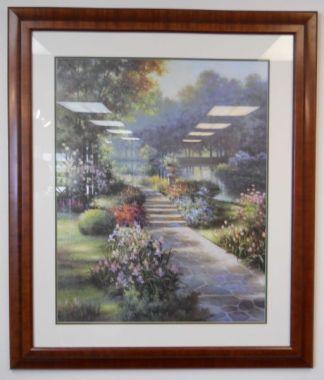Art Print 21 - Flowers & Sidewalk - Used