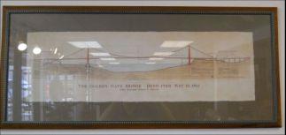 Art Print 36 - Golden Gate Bridge - Used