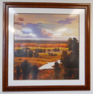 Art Print 46 - Rolling Hills Sunset - Used
