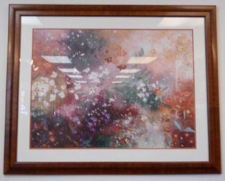 Art Print 5 - Flowers- Used