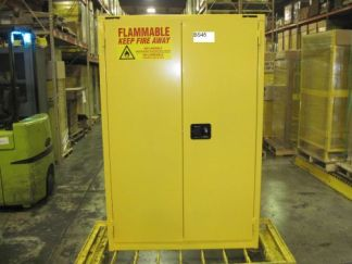"""45 GAL """"SELF CLOSE"""" Flammable Cabinet #BS45 - NEW"""