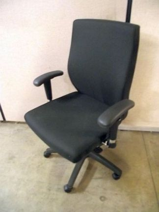 Compel CTF 3110 Conference Chairs Black Fabric - New Surplus