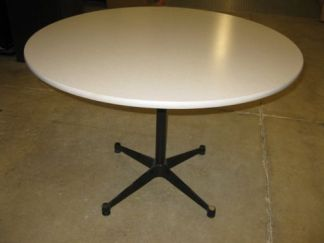 """42"""" Tan Round Table - Used"""