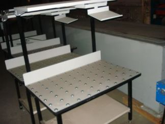 Ball Top Packing & Assembly Tables - Used