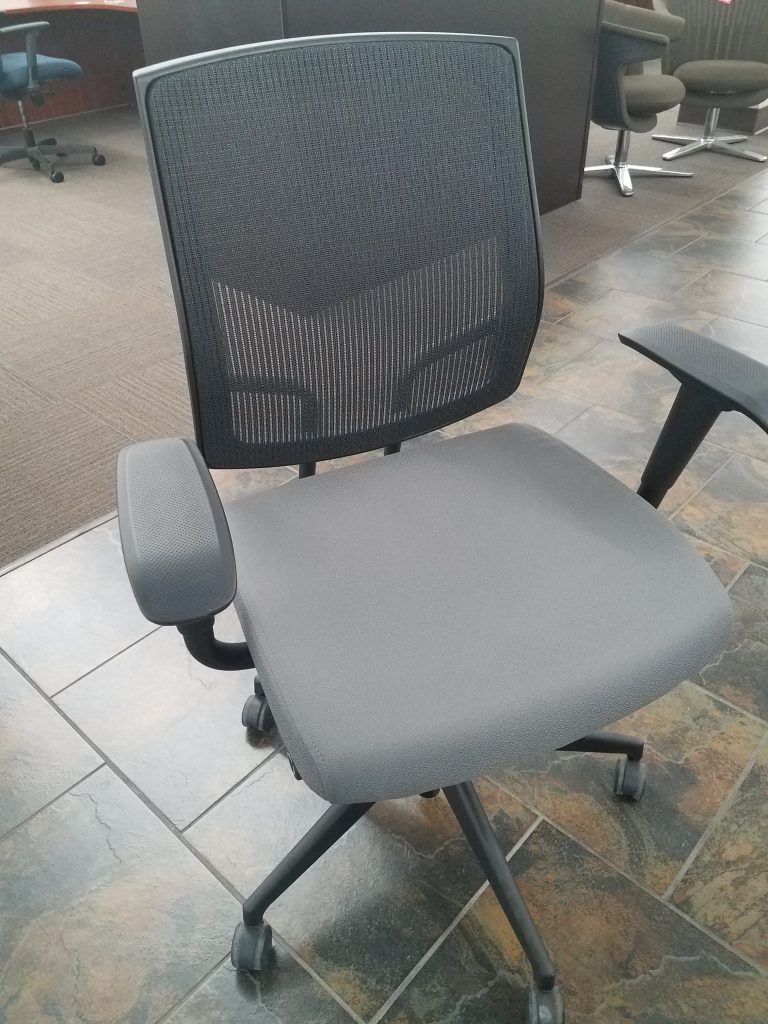 Sitonit Brand Focus Mesh Backed Work Chair w Arms